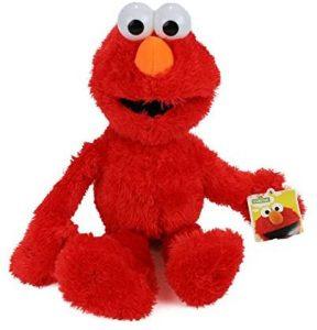 Peluche de Elmo de 22 cm - Los mejores peluches de Barrio Sésamo - Peluches de personajes de Elmo