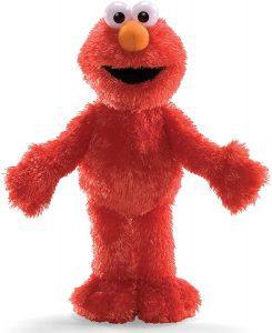 Peluche de Elmo de 33 cm de Gund - Los mejores peluches de Barrio Sésamo - Peluches de personajes de Elmo