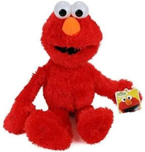 Peluche de Elmo de 35 cm - Los mejores peluches de Barrio Sésamo - Peluches de personajes de Elmo