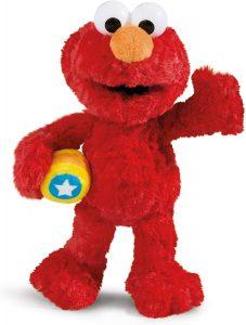 Peluche de Elmo de 35 cm de NICI - Los mejores peluches de Barrio Sésamo - Peluches de personajes de Elmo