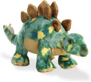 Peluche de Estegosaurio de Aurora de 44 cm - Los mejores peluches de Estegosaurio - Peluches de dinosaurios