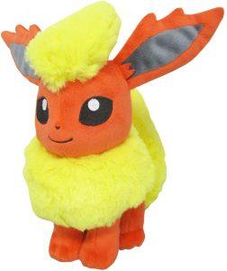 Peluche de Flareon de Eevee de 18 cm - Los mejores peluches de Flareon - Peluches de Pokemon