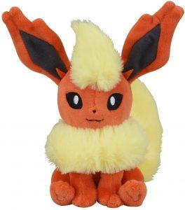Peluche de Flareon de Eevee de 19 cm - Los mejores peluches de Flareon - Peluches de Pokemon