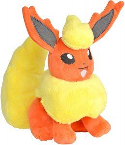 Peluche de Flareon de Eevee de 20 cm - Los mejores peluches de Flareon - Peluches de Pokemon