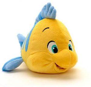 Peluche de Flounder de 26 cm de Disney - Los mejores peluches de peces - Peluches de animales