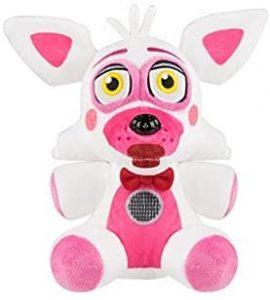 Peluche de Foxy de 15 cm - Los mejores peluches de 5 Nights at Freddys - Peluches de videojuegos