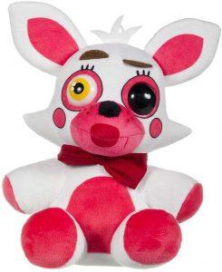Peluche de Foxy de 27 cm - Los mejores peluches de 5 Nights at Freddys - Peluches de videojuegos