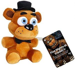 Peluche de Freddy de 15 cm - Los mejores peluches de 5 Nights at Freddys - Peluches de videojuegos