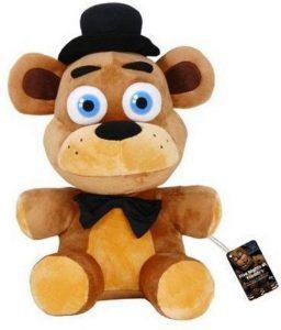 Peluche de Freddy de 55 cm - Los mejores peluches de 5 Nights at Freddys - Peluches de videojuegos