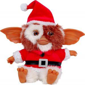 Peluche de Gizmo navideño de los Gremlins de 15 cm - Los mejores peluches de los Gremlins - Peluches de Gizmo