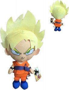 Peluche de Goku Super Saiyan Dios de Dragon Ball Z de 30 cm - Los mejores peluches de Dragon Ball Z - Peluches de Dragon Ball Z