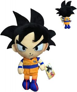 Peluche de Goku de Dragon Ball Z de 22 cm - Los mejores peluches de Dragon Ball Z - Peluches de Dragon Ball Z