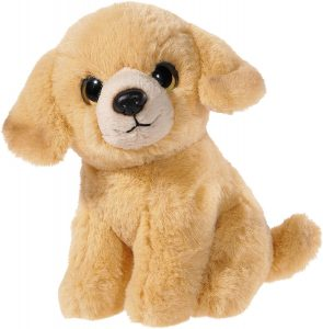 Peluche de Golden Retriever de 14 cm de Heunec - Los mejores peluches de goldens retriever - Peluches de perros