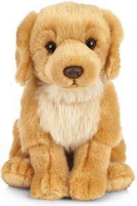 Peluche de Golden Retriever de 20 cm de Living Nature - Los mejores peluches de goldens retriever - Peluches de perros