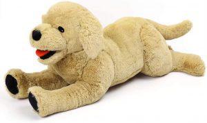 Peluche de Golden Retriever de 50 cm de LotFancy - Los mejores peluches de goldens retriever - Peluches de perros