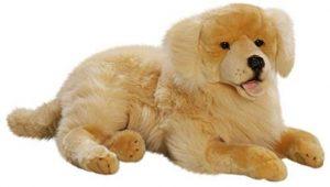 Peluche de Golden Retriever de 60 cm de Carl Dick - Los mejores peluches de goldens retriever - Peluches de perros