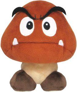 Peluche de Goomba de 13 cm de Nintendo - Los mejores peluches de Goomba de Super Mario - Peluches de personaje de Mario