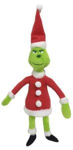 Peluche de Grinch de 30 cm Santa - Los mejores peluches de Grinch - Peluches de Grinch
