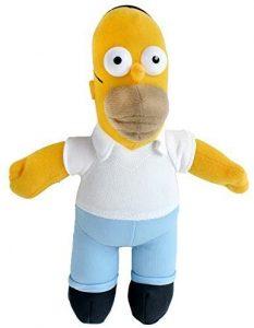 Peluche de Homer Simpson de 25 cm - Los mejores peluches de los Simpsons - Peluches de series de dibujos animados
