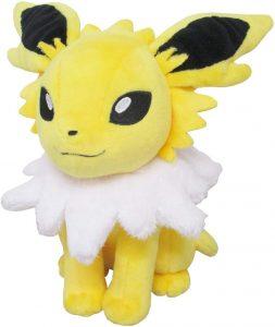 Peluche de Jolteon de Eevee de 15 cm - Los mejores peluches de Jolteon - Peluches de Pokemon