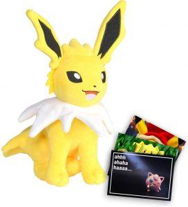 Peluche de Jolteon de Eevee de 19 cm - Los mejores peluches de Jolteon - Peluches de Pokemon