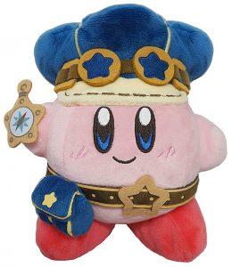 Peluche de Kirby Policia de 15 cm de Nintendo - Los mejores peluches de Kirby - Peluches de personaje de Kirby