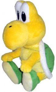 Peluche de Koopa Troopa de 15 cm de Nintendo 3 - Los mejores peluches de Koopa Troopa de Super Mario - Peluches de personaje de Mario