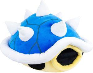 Peluche de Koopa Troopa de caparazón azul de 38 cm de Nintendo - Los mejores peluches de Koopa Troopa de Super Mario - Peluches de personaje de Mario