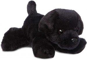 Peluche de Labrador de 19 cm de Aurora - Los mejores peluches de labradores - Peluches de perros