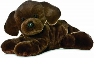 Peluche de Labrador de 20 cm de Aurora - Los mejores peluches de labradores - Peluches de perros