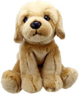 Peluche de Labrador de 26 cm de Wilberry - Los mejores peluches de labradores - Peluches de perros