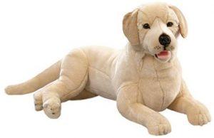 Peluche de Labrador de 65 cm de Carl Dick - Los mejores peluches de labradores - Peluches de perros