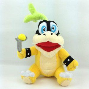 Peluche de Larry Koopa de 15 cm de Nintendo 2 - Los mejores peluches de Koopa de Super Mario - Peluches de personaje de Mario