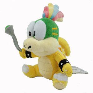 Peluche de Larry Koopa de 15 cm de Nintendo 3 - Los mejores peluches de Koopa de Super Mario - Peluches de personaje de Mario