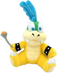 Peluche de Larry Koopa de 15 cm de Nintendo - Los mejores peluches de Koopa de Super Mario - Peluches de personaje de Mario