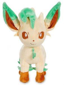 Peluche de Leafeon de Eevee de 20 cm evolución - Los mejores peluches de Vaporeon - Peluches de Pokemon