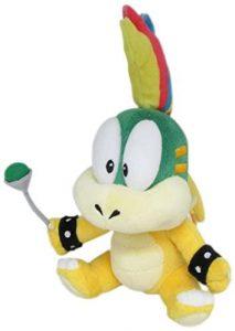 Peluche de Lemmy Koopa de 20 cm de Nintendo - Los mejores peluches de Koopa de Super Mario - Peluches de personaje de Mario