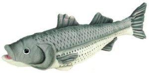 Peluche de Lubina de 42 cm de Heunec - Los mejores peluches de peces - Peluches de animales
