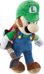 Peluche de Luigi Mansión de 26 cm de Mario Bros de Nintendo - Los mejores peluches de Luigi - Peluches de personaje de Luigi