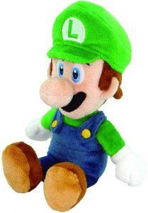 Peluche de Luigi de 20 cm de Mario Bros de Nintendo 2 - Los mejores peluches de Luigi - Peluches de personaje de Luigi