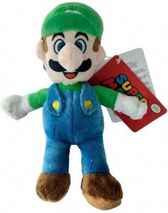Peluche de Luigi de 20 cm de Mario Bros de Nintendo - Los mejores peluches de Luigi - Peluches de personaje de Luigi