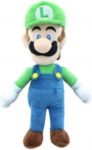 Peluche de Luigi de 24 cm de Mario Bros de Nintendo 2 - Los mejores peluches de Luigi - Peluches de personaje de Luigi