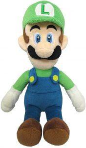 Peluche de Luigi de 24 cm de Mario Bros de Nintendo - Los mejores peluches de Luigi - Peluches de personaje de Luigi