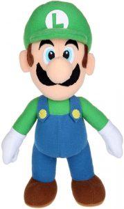 Peluche de Luigi de 38 cm de Mario Bros de Nintendo - Los mejores peluches de Luigi - Peluches de personaje de Luigi