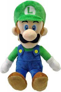 Peluche de Luigi de 40 cm de Mario Bros de Nintendo - Los mejores peluches de Luigi - Peluches de personaje de Luigi