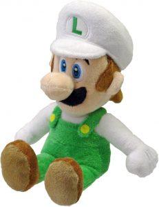 Peluche de Luigi de fuego de 20 cm de Mario Bros de Nintendo - Los mejores peluches de Luigi - Peluches de personaje de Luigi