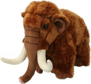 Peluche de Mamut de Living Nature de 22 cm - Los mejores peluches de mamuts - Peluches de animales