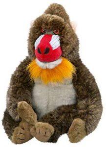 Peluche de Mandril de Carl Dick de 23 cm - Los mejores peluches de monos - Peluches de animales