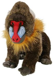 Peluche de Mandril de Carl Dick de 30 cm - Los mejores peluches de monos - Peluches de animales