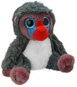 Peluche de Mandril de Orbys de 25 cm - Los mejores peluches de monos - Peluches de animales
